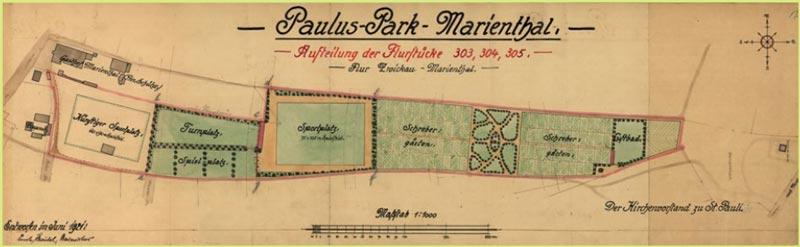 Flurplan Pauluspark Marienthal